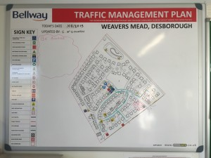 traffic management plan boards